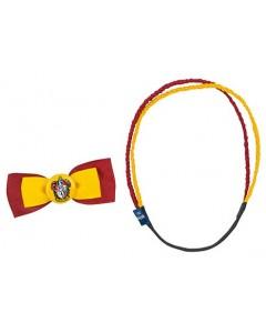 Harry Potter - Set de 2 accessoires pour cheveux Trendy : Gryffindor