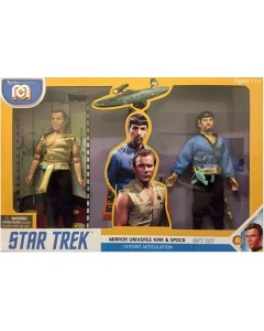 Star Trek - Pack 2 figurines Mirror Universe Spock & Kirk 20 cm