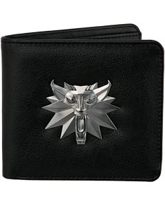 The Witcher - Portefeuille bifold Wolf Medaillon