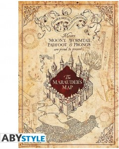 Harry Potter - Poster Marauder's Map (61 x 91,5 cm)