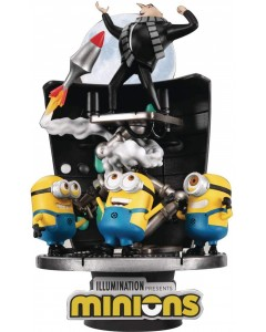 Minions - Figurine Diorama D-Stage Stealing the Moon PVC 15 cm