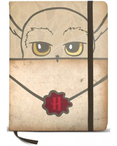 Harry Potter - Carnet Lettre Hedwige