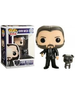 John Wick - Pop! - John Wick in Black Suit with Dog n°580