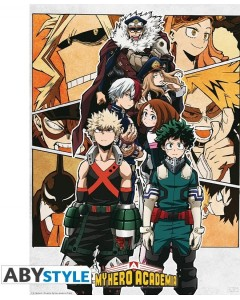 My Hero Academia - poster Groupe (52 x 38 cm)