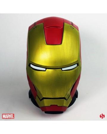 Marvel - Tirelire Iron Man casque MKIII 25 cm