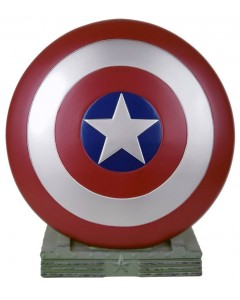 Marvel - Tirelire bouclier Captain America 25 cm
