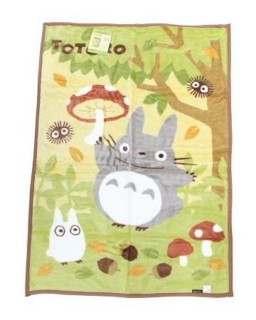 Mon Voisin Totoro - Plaid Champignons 100 x 140 cm