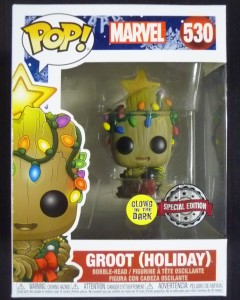Marvel - Pop! - Holiday Groot Glow in the Dark n°530 exclusive