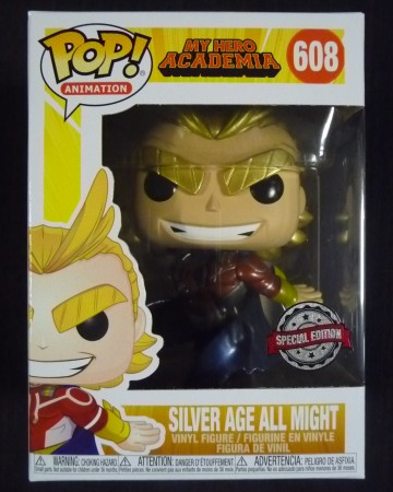 My Hero Academia - Pop! - Silver Age All Might n°608 Metallic exclusive