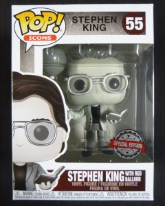 Pop! Icons - Stephen King red balloon Black & White n°55