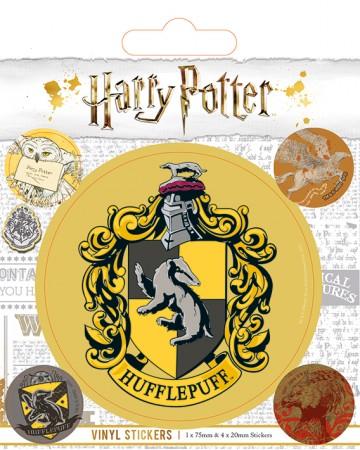 Harry Potter - set de stickers Hufflepuff