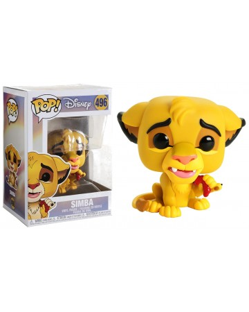 Disney - Pop! - The Lion King - Simba with worm