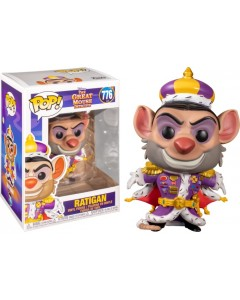 Disney - Pop! - Basil The Great Mouse Detective : Ratigan n°776