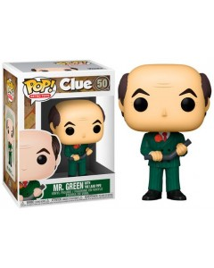 Clue - Pop! Retro Toys - Mr Green with The Lead Pipe n°50