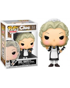 Clue - Pop! Retro Toys - Mrs White with The Wrench n°51