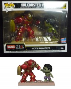 Marvel : Movie Moments - Pop! - Hulk vs Hulkbuster n°394 NYCC 2018