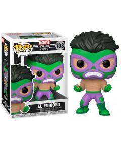 Marvel - Pop! Lucha Libre - Hulk El Furioso n°708