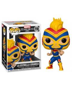 Marvel - Pop! Lucha Libre - Captain Marvel La Estrella Cosmica n°710