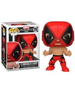 Marvel - Pop! Lucha Libre - Deadpool El Chimichanga de la Muerte n°712