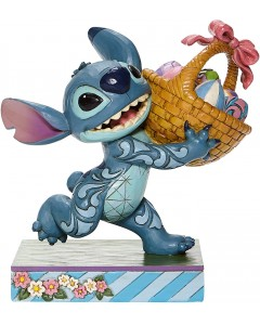 """Disney - Traditions - Stitch with Easter Basket """"Bizarre Bunny"""""""