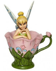 """Disney - Traditions - Tink Sitting in Flower """"A Spot of Tink"""""""