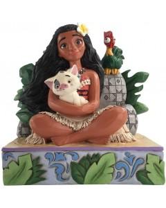 """Disney - Traditions - Moana with Pua and Hei Hei """"Welcome to Motunui"""""""