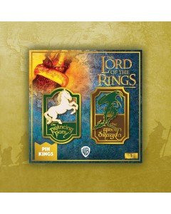 Lord of the Rings - Set 2 pins émaillés Prancing Pony & Green Dragon