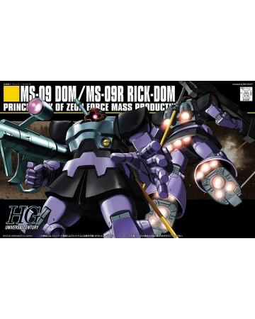 Gundam - HGUC 1/144 MS-09 Dom/MS-09R Rick D