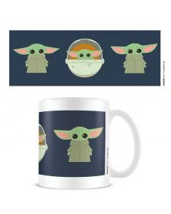 Star Wars : The Mandalorian - Mug The Child Illustration