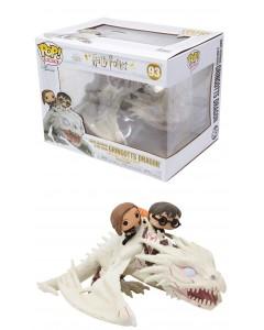 Harry Potter - Pop! - Harry Ron Hermione riding Gringotts Dragon n°93