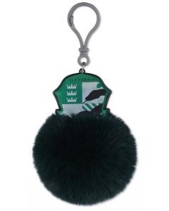 Harry Potter - Porte-clé bag clip pompon Slytherin