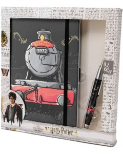 Harry Potter - Set carnet journal + stylo bille Hogwarts Express