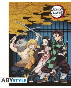 Demon Slayer - Poster Groupe 52 x 38 cm