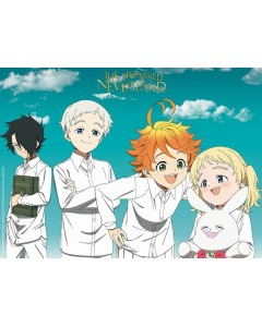 The Promised Neverland - Poster Orphelins 52 x 38 cm
