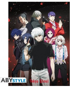Tokyo Ghoul - Poster Groupe 52 x 38 cm