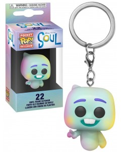 Disney Pixar - Pop! Pocket Soul - Porte-clé 22 Soul World