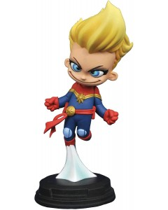 Marvel - Mini statuette Animated Series Captain Marvel 10 cm