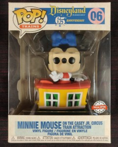 Disney - Pop! Disneyland 65th - Minnie Mouse on the Casey Jr. Circus Train Attraction n°06