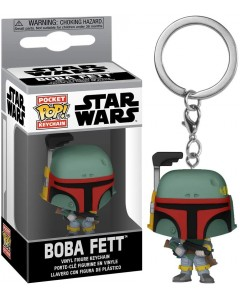 Star Wars - Pop! Pocket - porte-clé Boba Fett