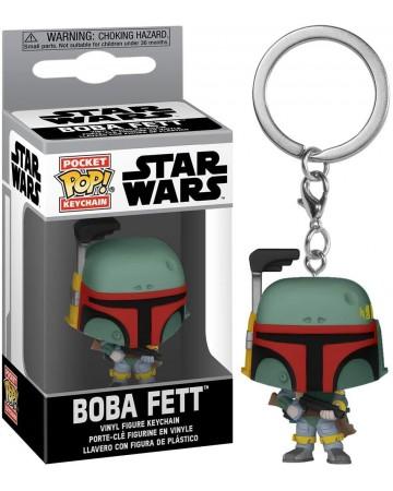 Star Wars - Pop! Pocket - porte-clé Boba Fett