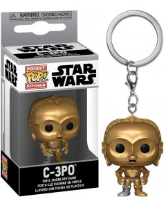 Star Wars - Pop! Pocket - porte-clé C-3PO