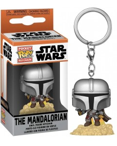 Star Wars : The Mandalorian - Pop! Pocket - porte-clé Mando Blaster