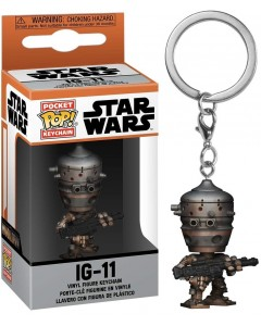 Star Wars : The Mandalorian - Pop! Pocket - porte-clé IG-11