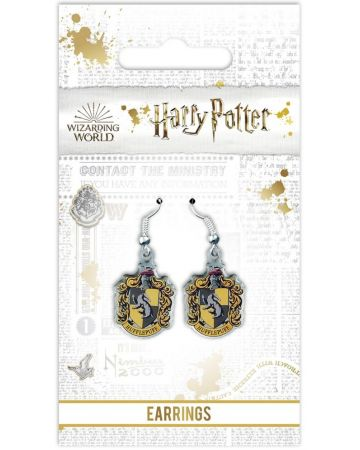 Harry Potter - Boucles d'oreilles Hufflepuff