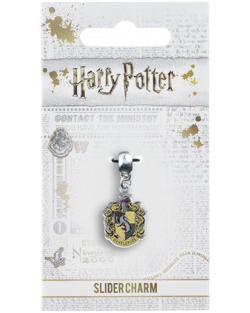 Harry Potter - Breloque plaqué argent Hufflepuff