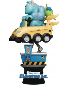 Disney Pixar - Figurine Diorama D-Stage Coin Ride Series Monsters Inc. 16 cm