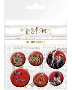 Harry Potter - set de 6 badges Icons