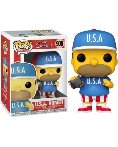 The Simpsons - Pop! - Homer Simpson USA n°905