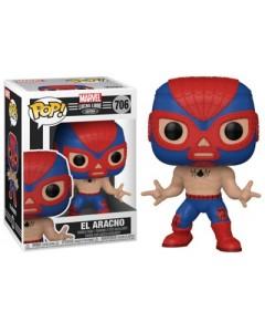 Marvel - Pop! Lucha Libre - Spider-Man El Aracno n°706