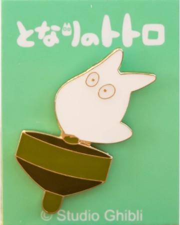 Mon Voisin Totoro - Pins Totoro blanc